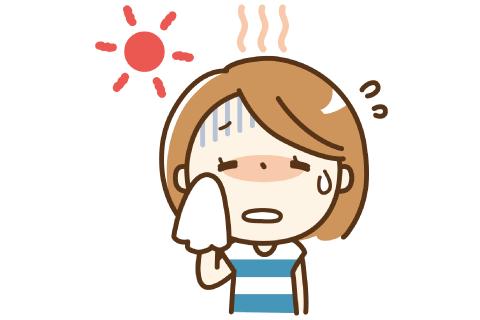 暑い夏 冷房が効かない