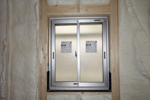 断熱処理済みの窓